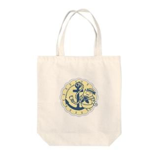 さわやかマリン有葉猫 Tote bags