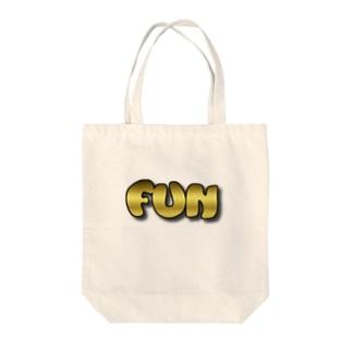 FUNゴールド Tote bags
