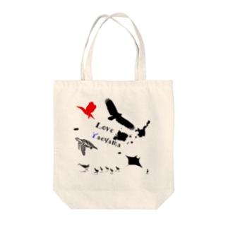 Love Yaeyama Tote bags