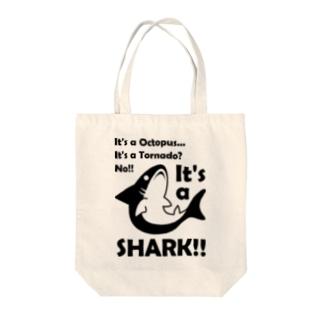 B級なサメ君 Tote bags