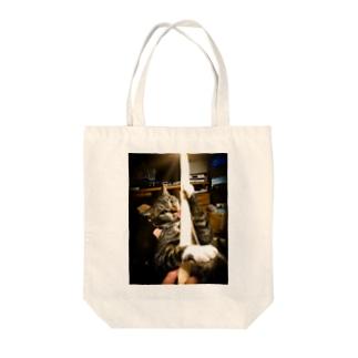 秘剣・猫の太刀 二の太刀 Tote Bag