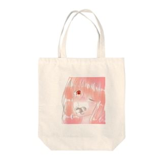 pinky mouth  Tote bags