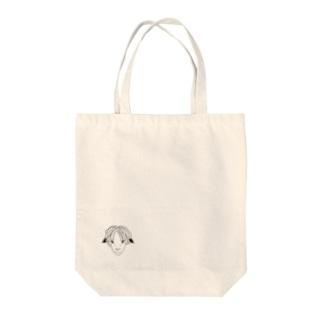 ドレッドヒツジ (モノトーン) Tote bags