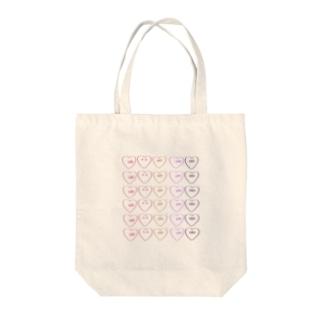 ハートン Tote bags