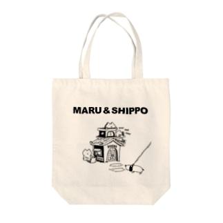 maru&shippo house トートバッグ