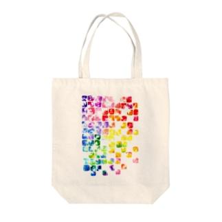 虹色硝子 Tote bags