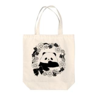 パンダのトートバッグ Tote bags