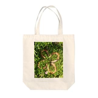 馬蹄の四つ葉 Tote bags