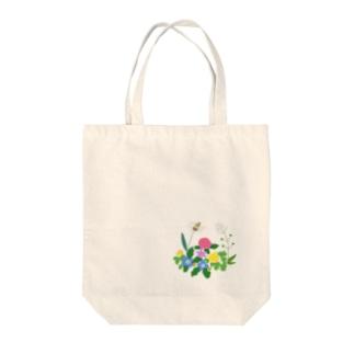 のはらの雑草たち Tote bags
