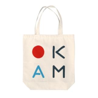 """""""OKAM"""" ロゴトートバック Tote bags"""