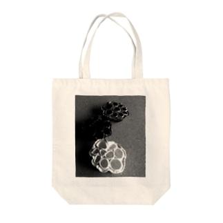 蓮の実 Tote bags