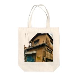 街の遊撃手の東京、廃屋、グラフィティ Tote bags