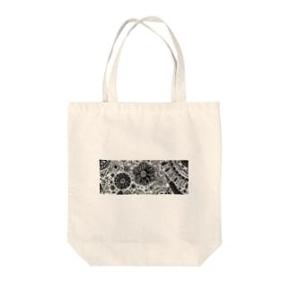 花柄デザイン(※病んでないよ) Tote bags