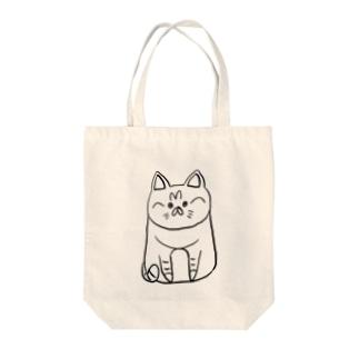 シマネコ Tote bags