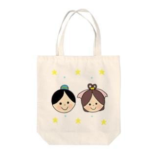 Yuuオリジナルイラスト27 彦星と織姫 Tote bags