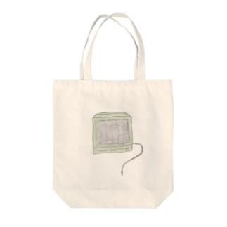 TV Tote bags