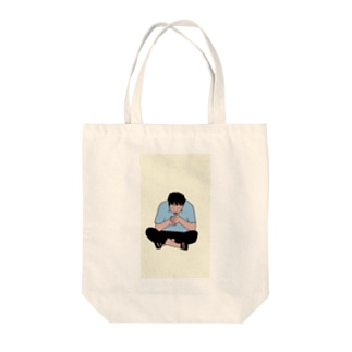 タバコ兄さん Tote bags