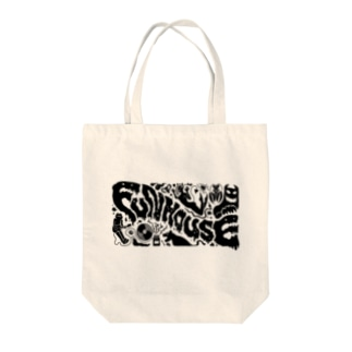 FUNHOUSE Tote bags