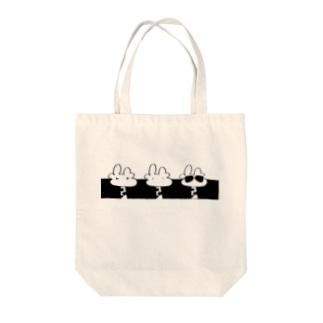 dige0624のkirin3sirokuro Tote bags