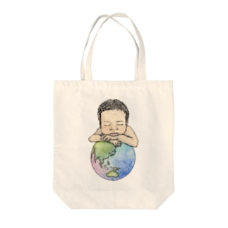 Welcome to the world Tote bags