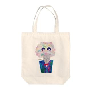 シゲルさん(よそ行き) Tote bags