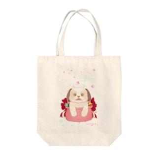しぃ Tote bags