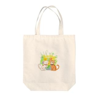 ちゃんでぃちゃんたち★ Tote bags