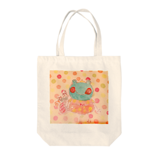 🎶カエルワールド✨🎶世界に一つだけのオリジナルグッズ🎶の🎶世界に一つだけのオリジナルグッズ🎶 Tote bags