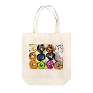 ファッションドーナツ♥ Tote bags
