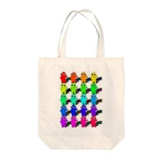 ねこスペクトラム Tote bags