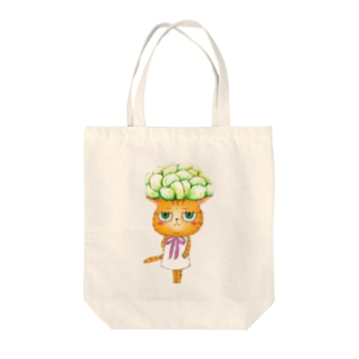 ちーちゃんシリーズ☆多肉植物 Tote bags