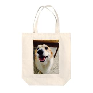 はっちゃん Tote bags