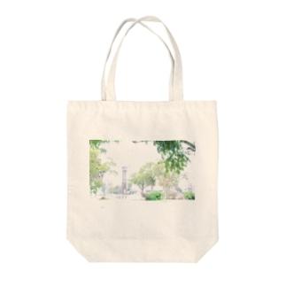 白飛公園 Tote bags