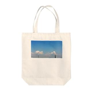 君のソラ Tote bags