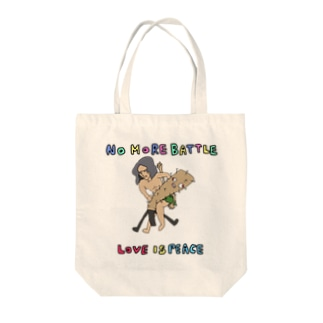野水伊織 作『LOVE IS PEACE』 Tote bags