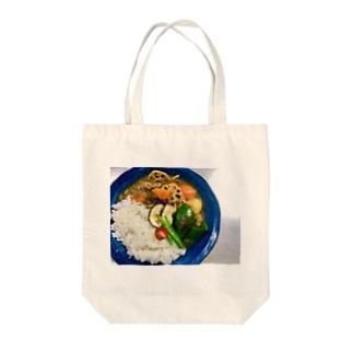 焼き夏野菜カレー Tote bags
