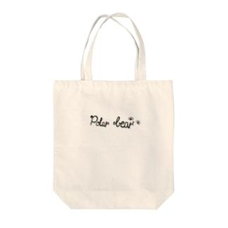 Polar bear バック Tote bags