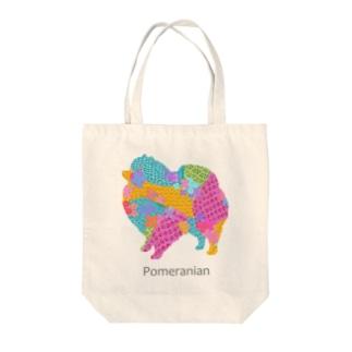 アレグリヘ ポメラニアン Tote bags