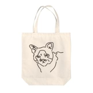 愛くるしいブサイクすぎる猫 Tote bags