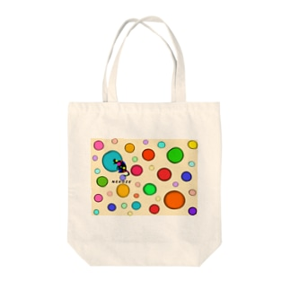 NEKOZEドットロゴ Tote bags