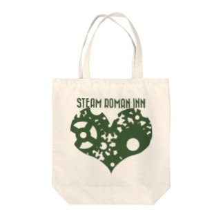 ENGINE HEART A Tote bags