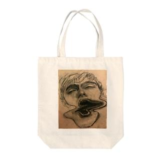 Melancholy Tote bags