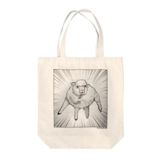 マッチョ羊2020_1 Tote bags