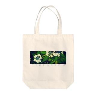 花器(ヨコナガ) Tote bags