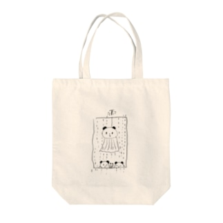 てるてる坊主のパンダ Tote bags