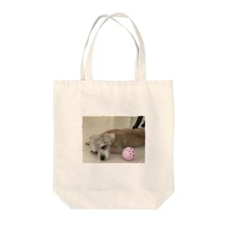 My dog NEGAO Tote bags