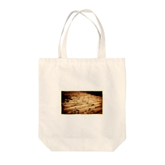 Stone steps Tote bags