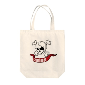 クロスボーン Tote bags