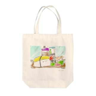 たまご寿司 Tote bags
