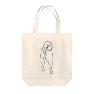 柴犬KOUMON Tote bags